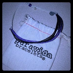 Purple Pura Vida Lung Cancer Bracelet